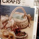 McCall's Crafts - Rags to Riches - Crochet Home Accents