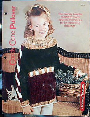Candy Cane Pullover - EXCELLENT Knit Pattern