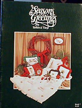 Seasons Greetings - Book 7 - Cross Stitch