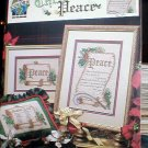 Recipe for Christmas Peace - EXCELLENT Cross Stitch
