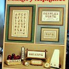 Country Alphabet - Cross Stitch