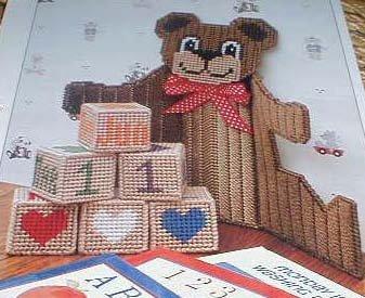 Teddy Bear Calendar - EXCELLENT Plastic Canvas Pattern