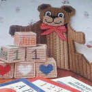 Teddy Bear Calendar - Plastic Canvas Pattern