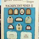 Magnificent Mini's II - EXCELLENT Cross Stitch