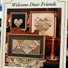 Welcome Dear Friends - Beautiful Cross Stitch