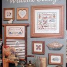 Welcome Collage - EXCELLENT Cross Stitch