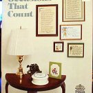 Occasions That Count - Book 4 - EXCELLENT Cross Stitch