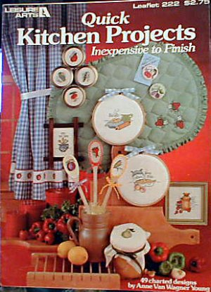 Quick Kitchen Projects - EXCELLENT Cross Stitch