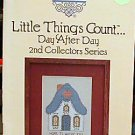 Little Things Count Day After Day 2nd Coll Series -NEW Cross-Stitch