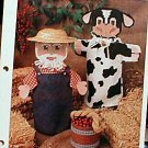 Barnyard Puppets - Plastic Canvas Pattern
