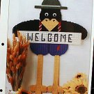 Welcome Crow - Plastic Canvas Pattern