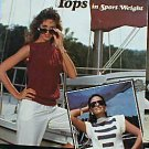 Crocheted Tops in Sport Weight