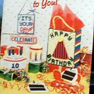 Happy Birthday To You! - EXCELLENT Plastic Canvas