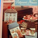 Potpourri Houses - Plastic Canvas
