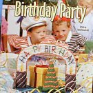 Birthday Party - EXCELLENT Plastic Canvas Patterns and More!