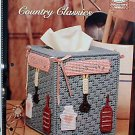 Country Classics - Plastic Canvas Pattern in MINT Condition