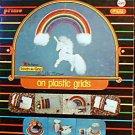 Rainbows on Plastic Grids  - Plastic Canvas