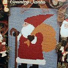 Country Santa - NEW Plastic Canvas Pattern