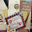 Shhh...Baby Sleeping - NEW Plastic Canvas Pattern