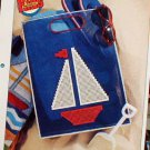 Sailboat Tote - Plastic Canvas Pattern