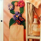 Butterfly Towel Holder - NEW Plastic Canvas Pattern