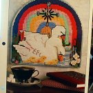 Swan Clock - Plastic Canvas Pattern in EXCELLENT Condition