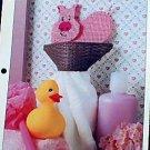 Piglet Towel Holder - Plastic Canvas Pattern