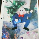 Humpty Dumpty Gift Tag -  Plastic Canvas Pattern