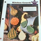 Kitchen Gourds - Plastic Canvas Pattern in EXCELLENT Condition