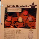 Lovely Hyacinths and Little Lambs - Plastic Canvas Patterns - Magnets - MINT