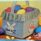 Plastic Canvas Easter Basket - Plastic Canvas Loose Pattern