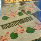 Bathroom Beauties - Decorative Crochet for Towels and Face Cloths - VINTAGE-1950