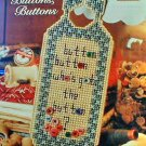 Buttons, Buttons  - NEW Plastic Canvas Pattern