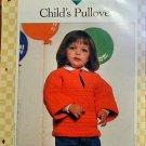 Child's Pullover - Crochet Pattern