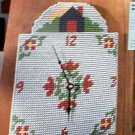 Country Clock - Loose Plastic Canvas Pattern