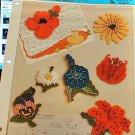 Flower Fridgies - Plastic Canvas Pattern