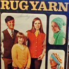 Knit and Crochet with Rug Yarn - Book No. 201