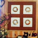 Country Grapevine Wreaths - Cross Stitch