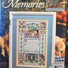 Cozy Kitchen Memories - Cross Stitch in MINT Condition