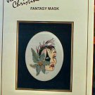 Fantasy Mask - Jeanne Christine - Cross Stitch in EXCELLENT Condition