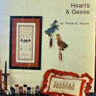 Hearts & Geese - Cross Stitch