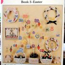Paper Stitches - Book 5 - Easter - Cross Stitch in EXCELLENT Condition