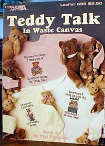 Teddy Talk in Waste Canvas