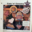 Cute 'n' Country - Plastic Canvas Pattern