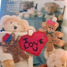 Love Bears - NEW Plastic Canvas Pattern