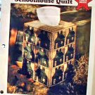 Schoolhouse Quilt - Plastic Canvas Pattern in MINT Condition