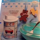 Toddler Mealtime Set - NEW Plastic Canvas Pattern
