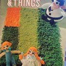 Novelties & Things - American Thread Co. - Great Crochet (1 Webbing; 1 Knitted) Patterns