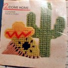 Siesta with Cactus, Sunshine Smiles, and Tub Toys - Loose Plastic Canvas Patterns