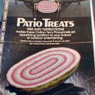 Patio Treats - Crochet Pattern - with  BONUS Pattern
